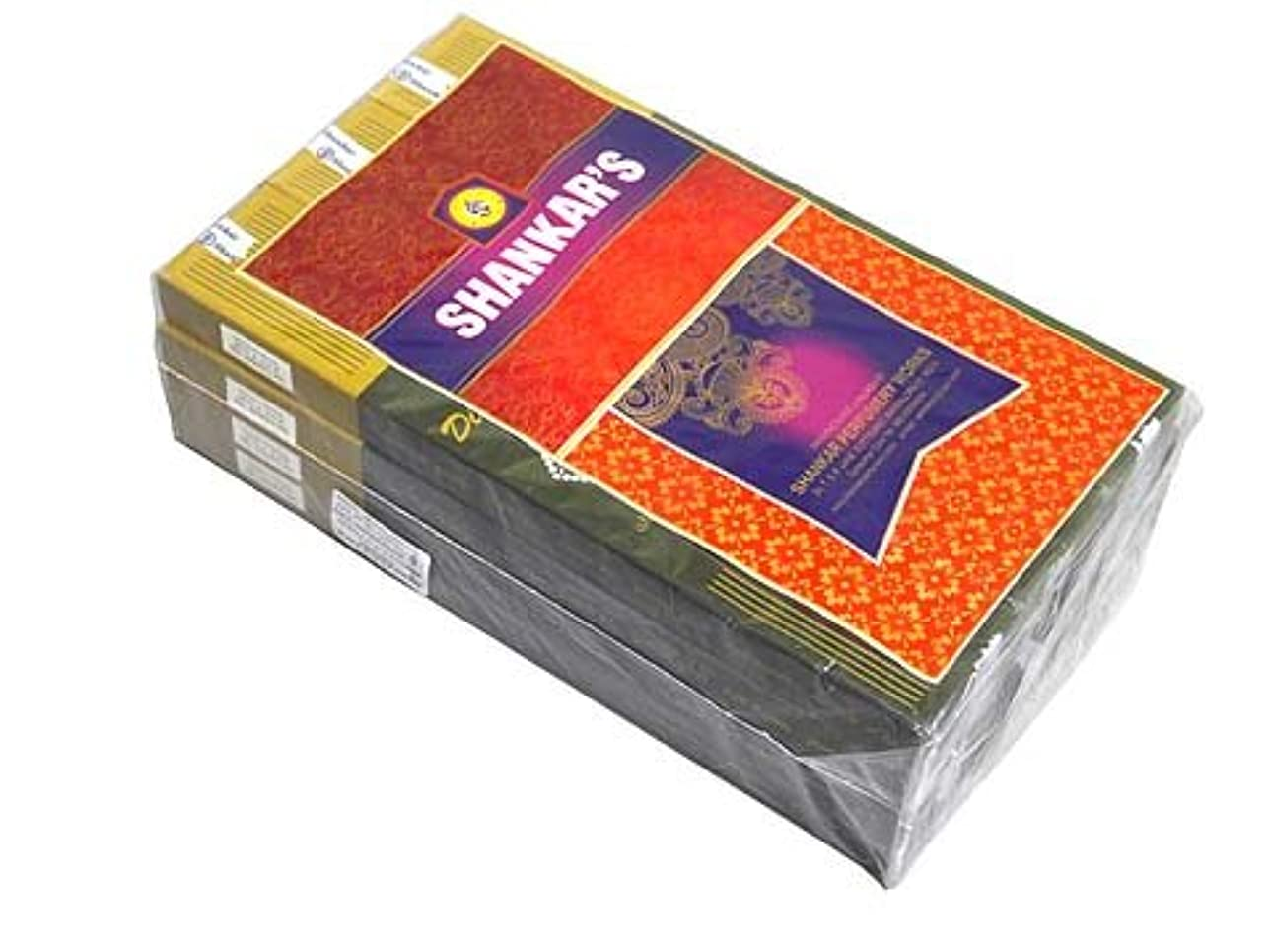 アイデア敬意を表して優先SHANKAR'S(シャンカーズ) ブラックダイヤモンド香 スティック BLACK DIAMOND 12箱セット