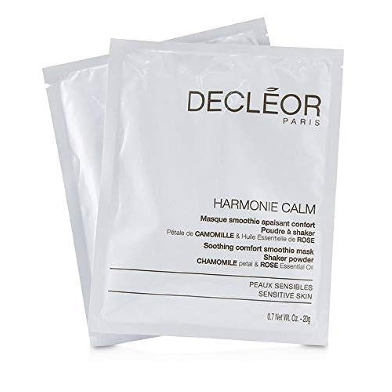 寄り添うますます永続デクレオール Harmonie Calm Soothing Comfort Smoothie Mask Shaker Powder - For Sensitive Skin (Salon Product) 5x20g/0.7oz並行輸入品