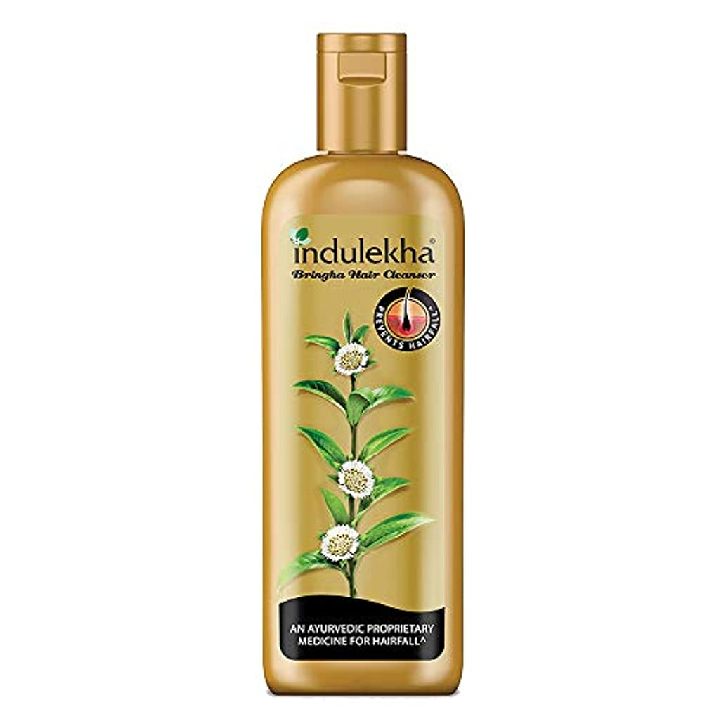 限定低い国民投票Indulekha Bringha Anti Hair Fall Hair Cleanser Shampoo, 340ml