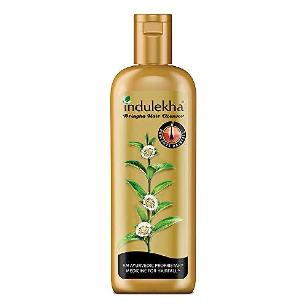 場合混乱させる長々とIndulekha Bringha Anti Hair Fall Hair Cleanser Shampoo, 340ml