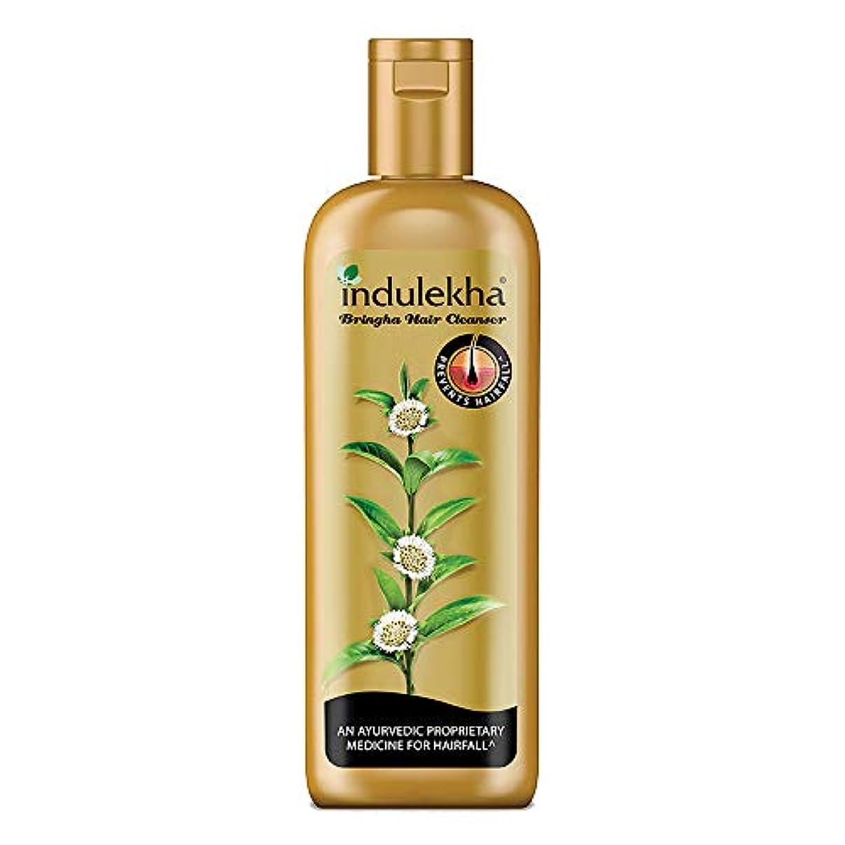 描写レガシー節約するIndulekha Bringha Anti Hair Fall Hair Cleanser Shampoo, 340ml