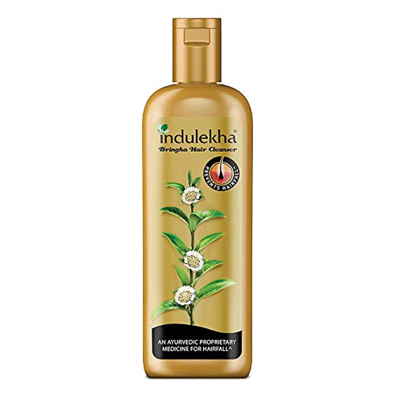国旗牽引編集者Indulekha Bringha Anti Hair Fall Hair Cleanser Shampoo, 340ml