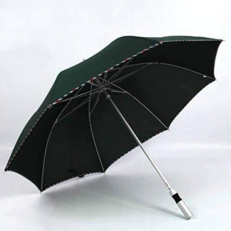受益者ちなみに矛盾Chuangshengnet 反傘日傘を運ぶのが簡単な傘アルミ傘軽量 (Color : 緑)