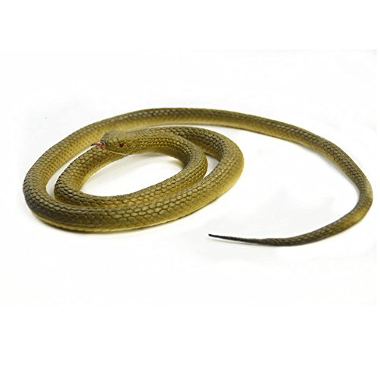 [SOSAM]SOSAM Rubber Lifelike Snakes Creatures Chain Snakes 47 Rain Forest Snake Toys Wild Life Snakes [並行輸入品]