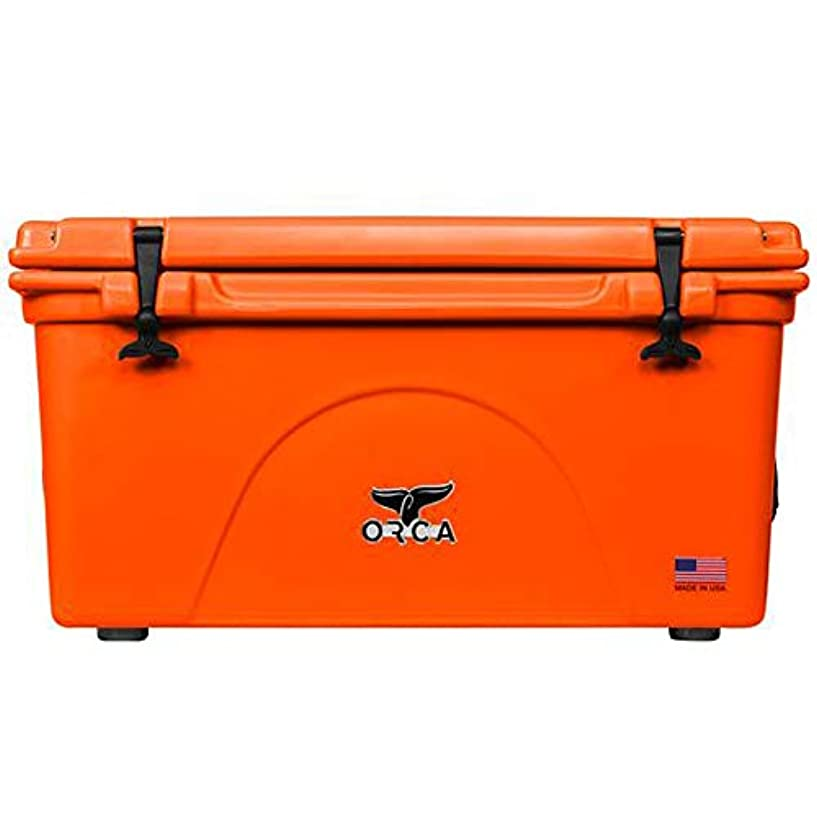 騙す魔術金額【正規品】ORCA Coolers/オルカクーラーズ 75クォート【ブレイズオレンジ】