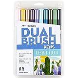 Tombow Desert Flora Colours Dual Brush Pen 10-Pieces Set, 56197