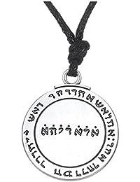 Talisman Pentacle of Solomon SealペンダントネックレスHermeticカバラPagan