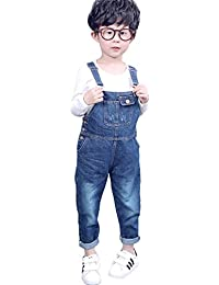 a962aa7cad189 [FERE8890] ボーイズ サロペット デニム パンツ 子供 ズボン キッズ 女の子 男の子 男女兼用 春服