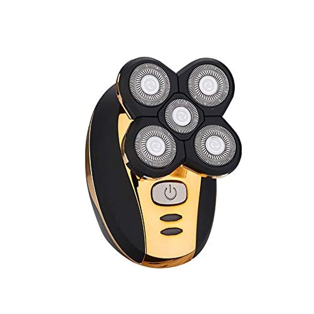 付ける昇進アスペクトバリカン メンズセルフサービスバリカン大人の電気かみそり特別エレクトリックシェービングヘッドレイザー 業務用 家庭用 子供用 (Color : Gold, Size : One size)