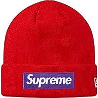シュプリーム ニューエラ コラボ Supreme x New Era Box Logo Beanie ニット帽 キャップ