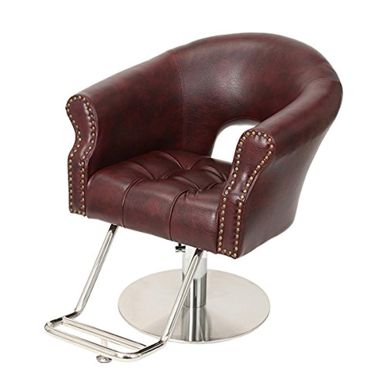 システムすぐに歪める< エトゥベラ > スタイリングチェア ノーブルNB-991 アンティークワイン [ チェア 椅子 イス セットチェア セット椅子 セットイス カットチェア カット椅子 カットイス 美容室椅子 美容室 美容師 ]