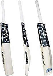 Spartan, Cricket, Rhino 1 English Willow Cricket Bat, Black, Short Handle