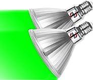 Explux PAR38 LED電球 150W相当 緑色光 広角配光 E26口金 IP65防水 調光器対応 PSE認証済【5年保証】2個パック