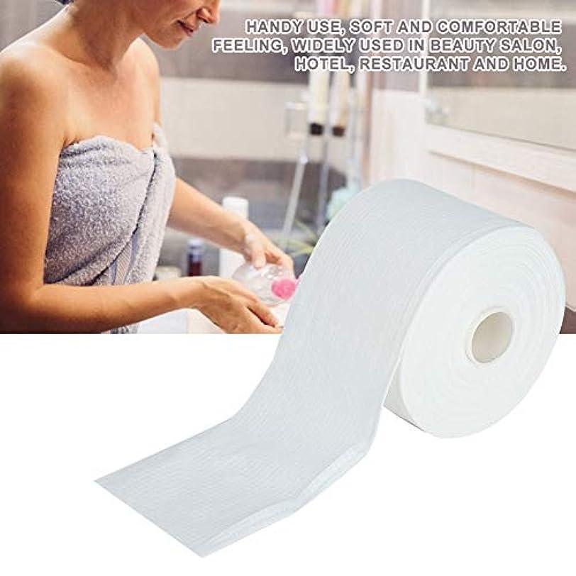 震え拒否固める使い捨て 不織布 タオル 化粧 顔 クレンジングパッド 化粧品除去ツール