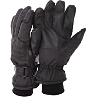 FLOSO Mens Thinsulate Padded Thermal Gloves With Palm Grip (3M 40g)