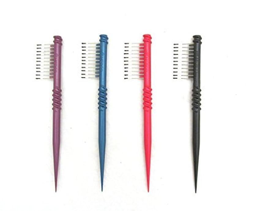 行政トレース慣れているMEBCO 8  Touch-Up Comb (Model: TH1) - Get all 4 colors, Detangler, hair brush, hair comb, pick, pik, pulls out...