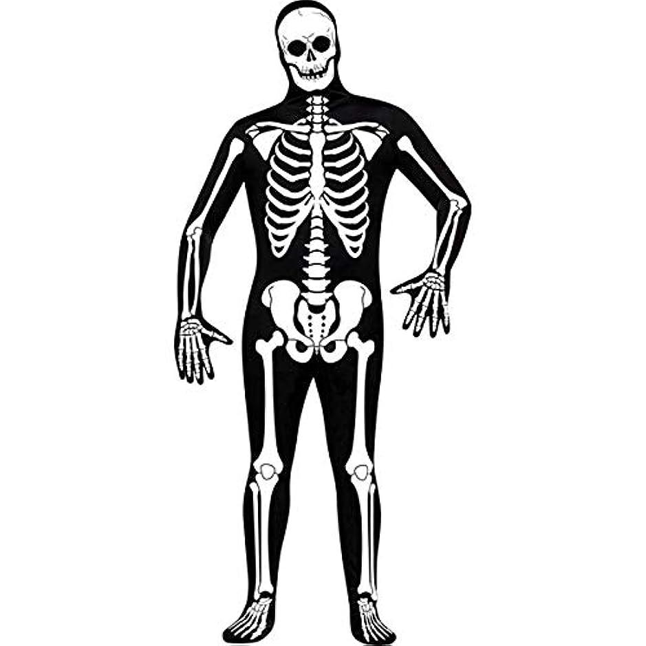 通知シリングアセSkeleton Zentai Adult Costume スケルトンゼンタイ大人用コスチューム?ハロウィン?サイズ:One-Size (Standard)