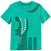 Carter's Baby Boys' Alligator Jersey Tee, Green