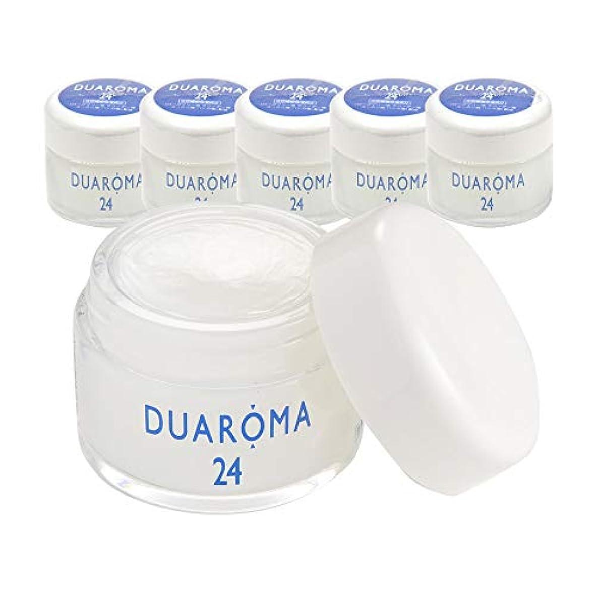 グローブスポンサー抽出デュアロマ24 薬用ハーブクリーム 40g (6個セット)