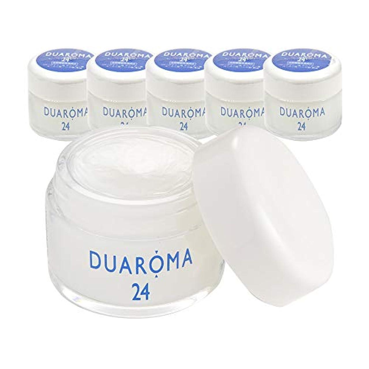黄ばむ平和な森デュアロマ24 薬用ハーブクリーム 40g (6個セット)