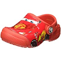 Crocs Boys Fun Lab Cars Clog Comfort Shoes