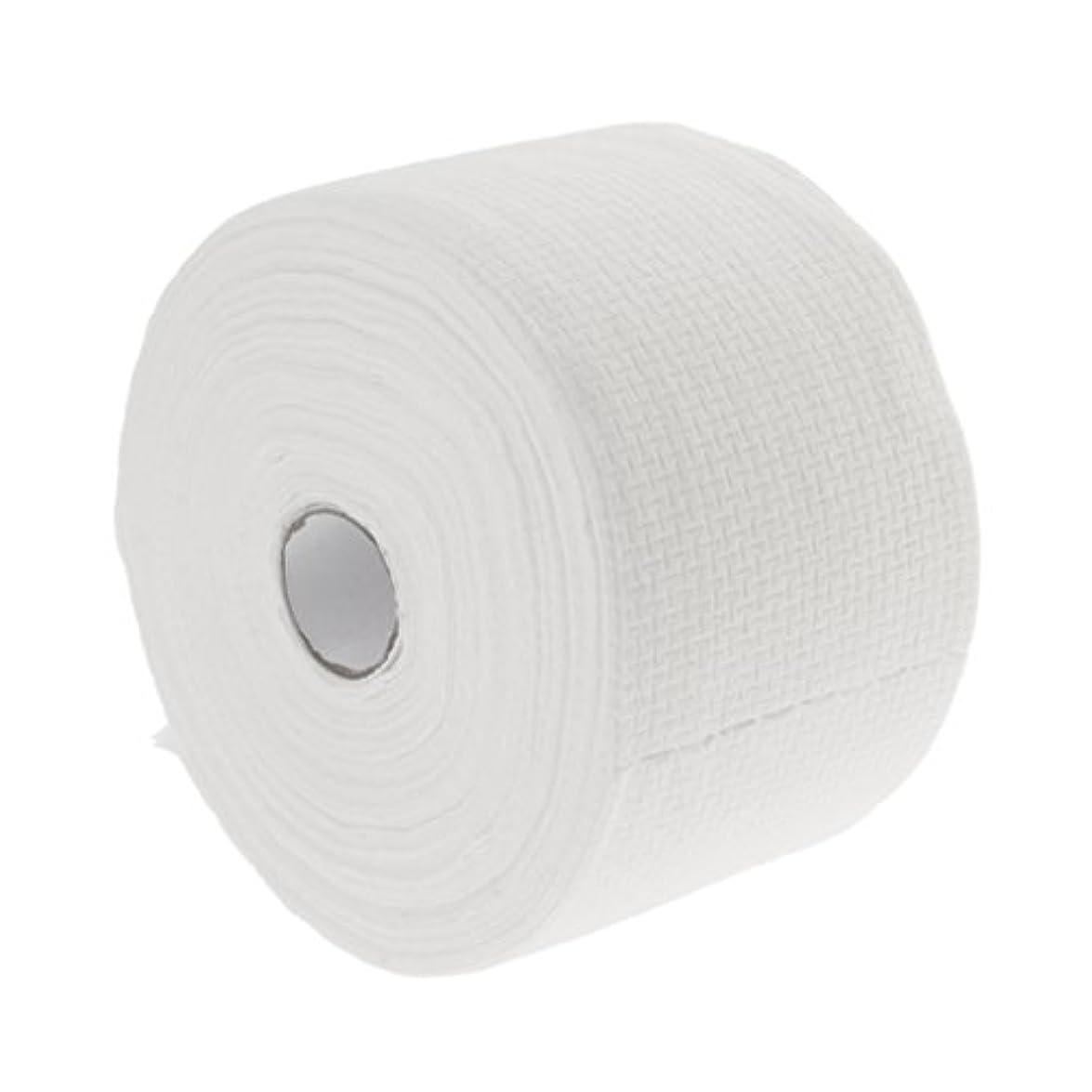 涙が出るきれいに物理的に30メートルの使い捨て可能な綿タオル繊維クレンジングフェイシャルワイプメイク落とし - #1