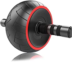 ACEmedia Ab Wheel Roller Pro Fitness Equipment Ab Workout Machine Abdominal Wheel Exercise Equipment Home Gym Core...