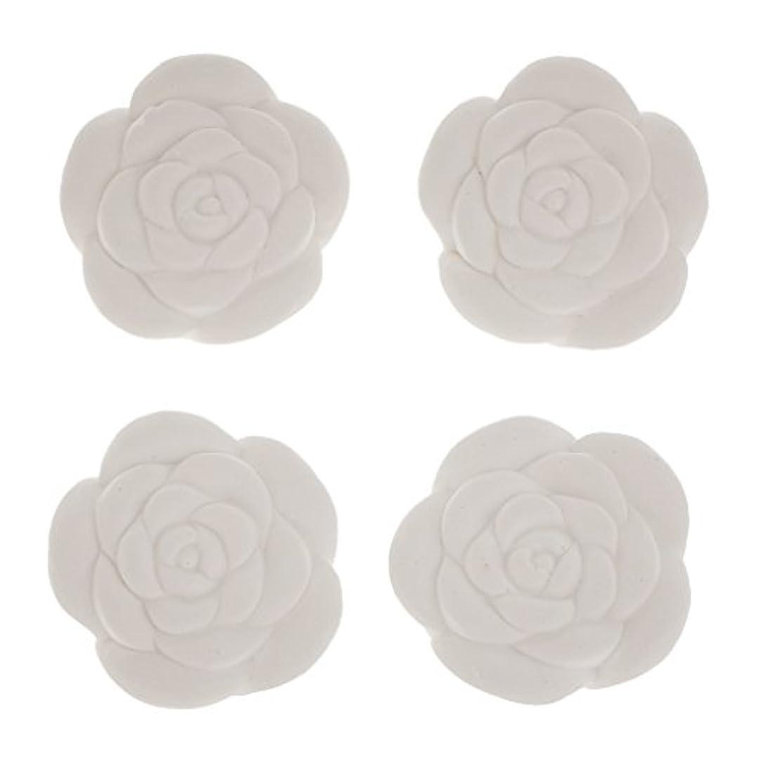 PETSOLA 全8パタン選べ 4個入り DIY エッセンシャルオイル ストーン 香水 芳香剤 エッセンシャルオイル - #4