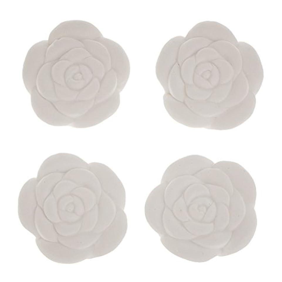砂利特性受け継ぐ全8パタン選べ 4個入り DIY エッセンシャルオイル ストーン 香水 芳香剤 エッセンシャルオイル - #4