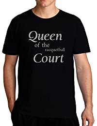 Eddany Queen of the Racquetball court Tシャツ