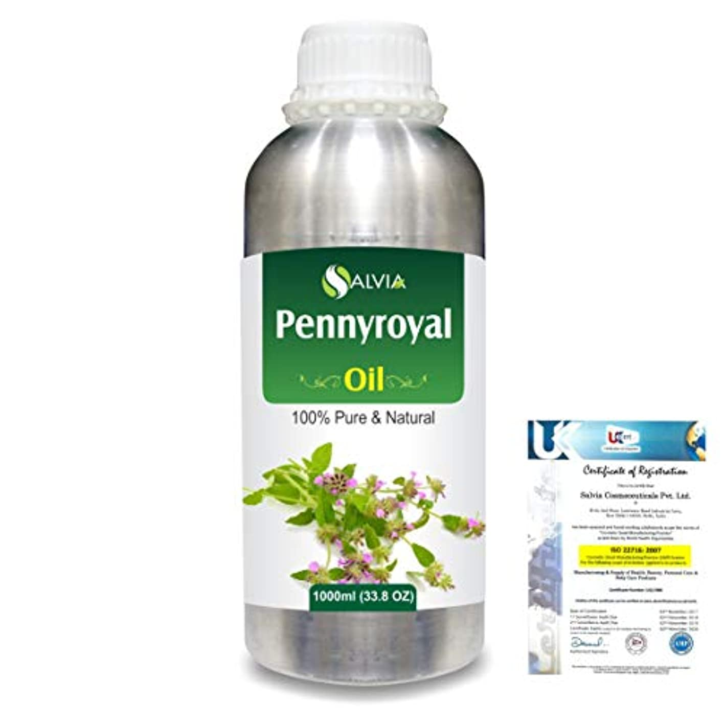 音ブロックする個性Pennyroyal (Mentha pulegium) 100% Natural Pure Essential Oil 1000ml/33.8fl.oz.