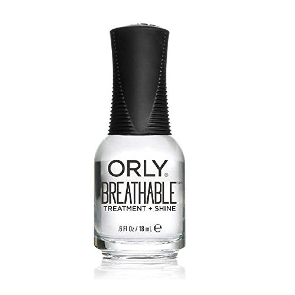 地獄南アメリカビーチOrly Breathable Treatment + Color Nail Lacquer - Treatment + Shine - 0.6oz/18ml