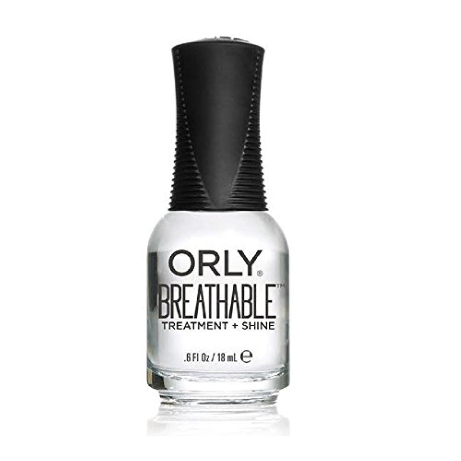 いつか原因令状Orly Breathable Treatment + Color Nail Lacquer - Treatment + Shine - 0.6oz/18ml