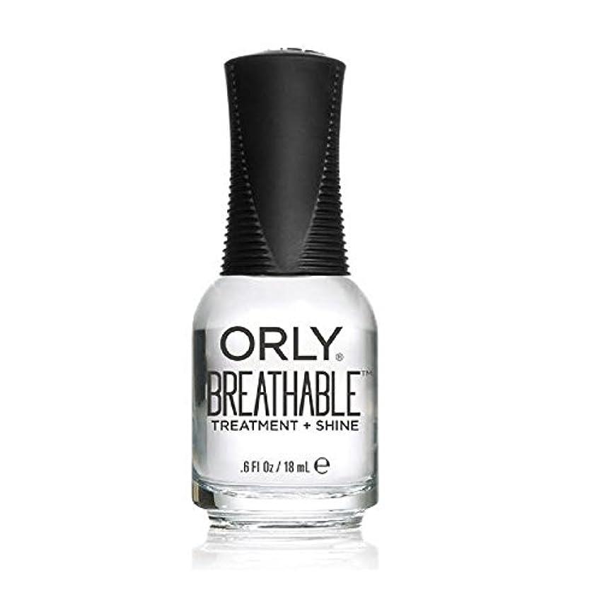 そう地獄表示Orly Breathable Treatment + Color Nail Lacquer - Treatment + Shine - 0.6oz/18ml