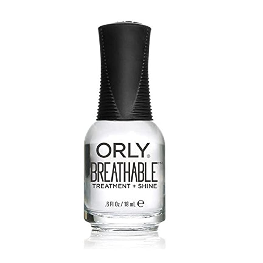 マインドフル内なる合唱団Orly Breathable Treatment + Color Nail Lacquer - Treatment + Shine - 0.6oz/18ml