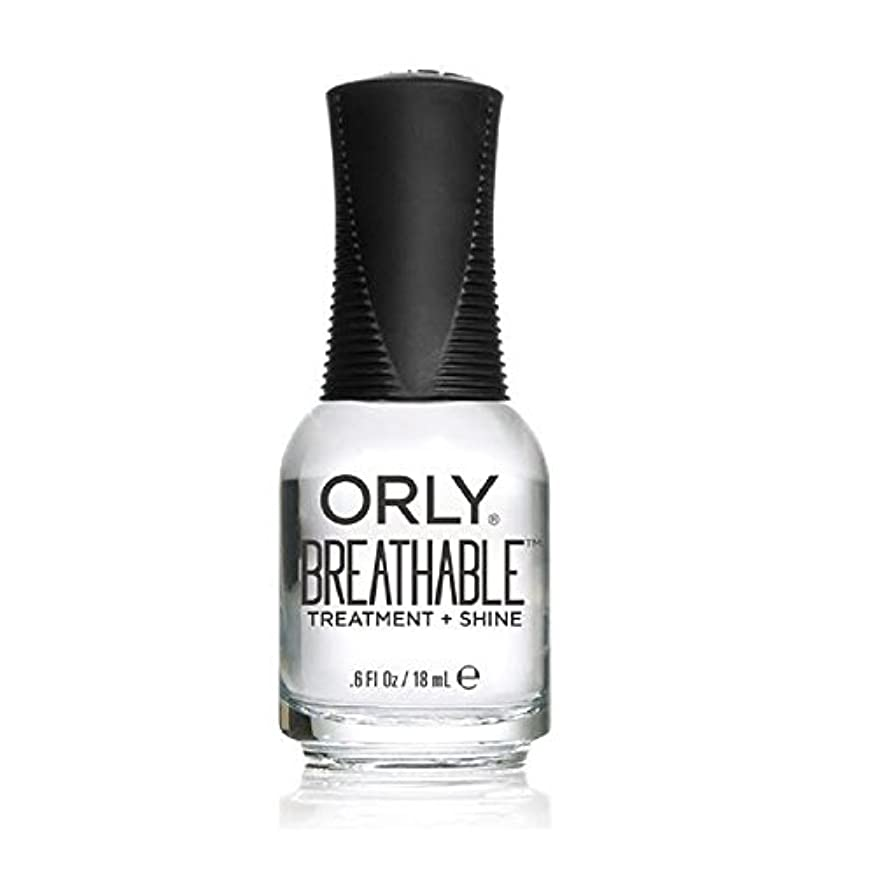 野生敏感な青写真Orly Breathable Treatment + Color Nail Lacquer - Treatment + Shine - 0.6oz/18ml