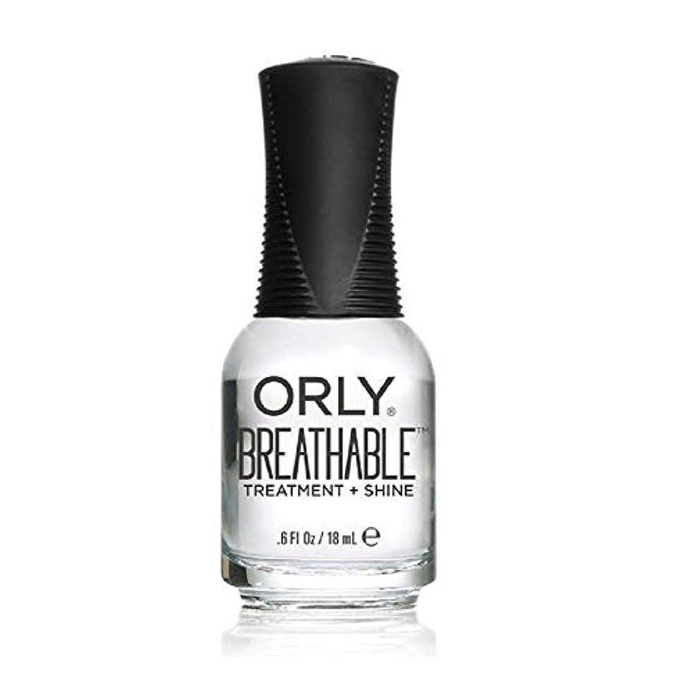 男らしい歩行者プラカードOrly Breathable Treatment + Color Nail Lacquer - Treatment + Shine - 0.6oz/18ml
