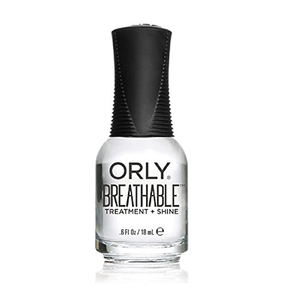 芽宗教瞑想Orly Breathable Treatment + Color Nail Lacquer - Treatment + Shine - 0.6oz/18ml