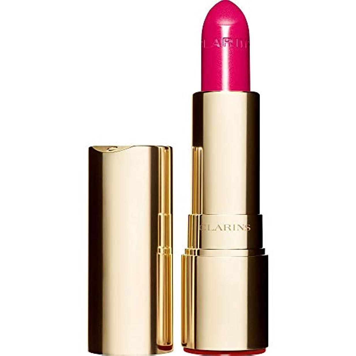[Clarins ] クラランスジョリルージュブリリアント口紅3.5グラムの713S - ホットピンク - Clarins Joli Rouge Brillant Lipstick 3.5g 713S - Hot Pink...