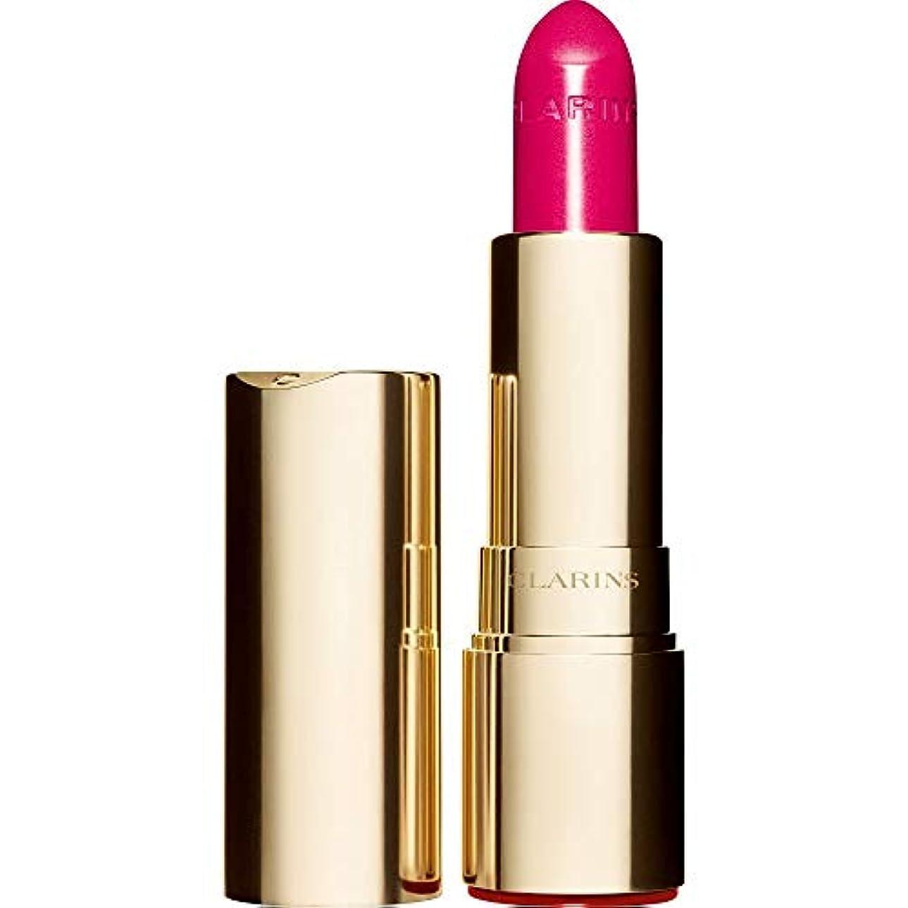 極貧進行中湿気の多い[Clarins ] クラランスジョリルージュブリリアント口紅3.5グラムの713S - ホットピンク - Clarins Joli Rouge Brillant Lipstick 3.5g 713S - Hot Pink [並行輸入品]