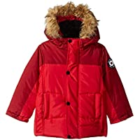 Ben Sherman Baby Boys' Bubble Jacket with Faux Fur Hood