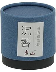 逆流円錐incense-100g自然Agarwood Cone Incense Waterfall Incense Backflow Incense