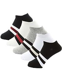 [FREESE] 靴下 メンズ くるぶしソックス ビジネス カジュアル スポーツソックス 紳士 24cm-27cm 5足セット