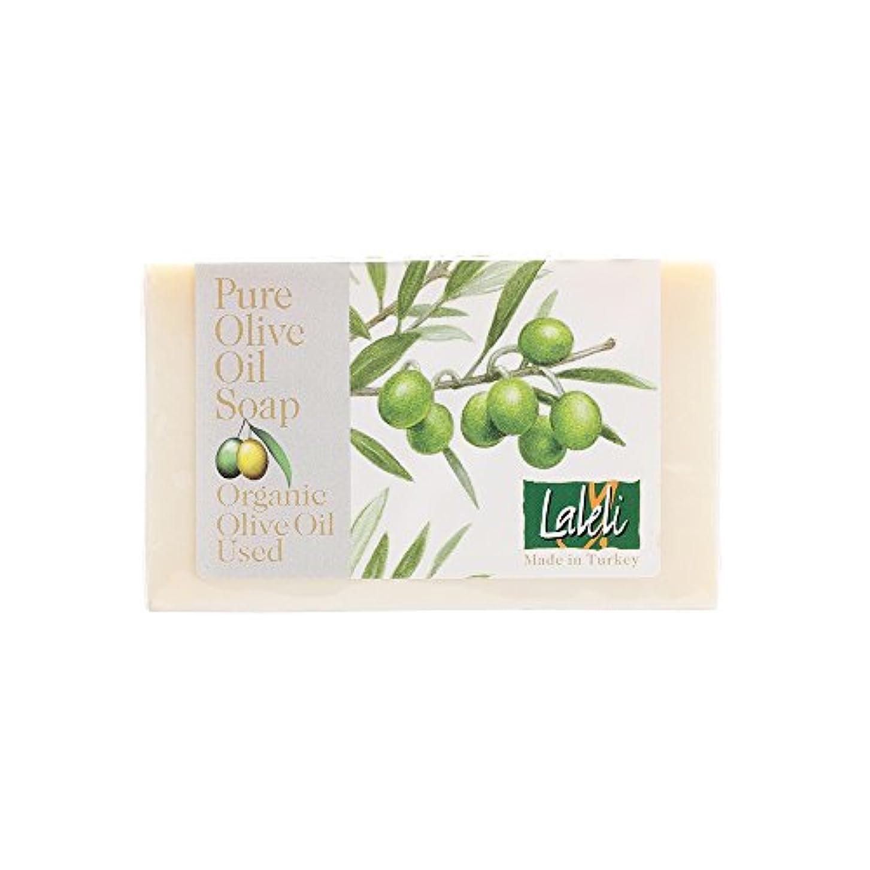 後退する貞毒液ラーレリ オーガニックオリーブオイルソープ 無香料 120g
