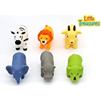Bathtime Fun Bath Toys for babies of age 18+ months includes 6 different water-squirting floating animal friends great way for kids to spend time in the tub [並行輸入品]