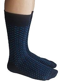 メンズ ビジネスソックス 紳士靴下 3足組 (3色アソート)