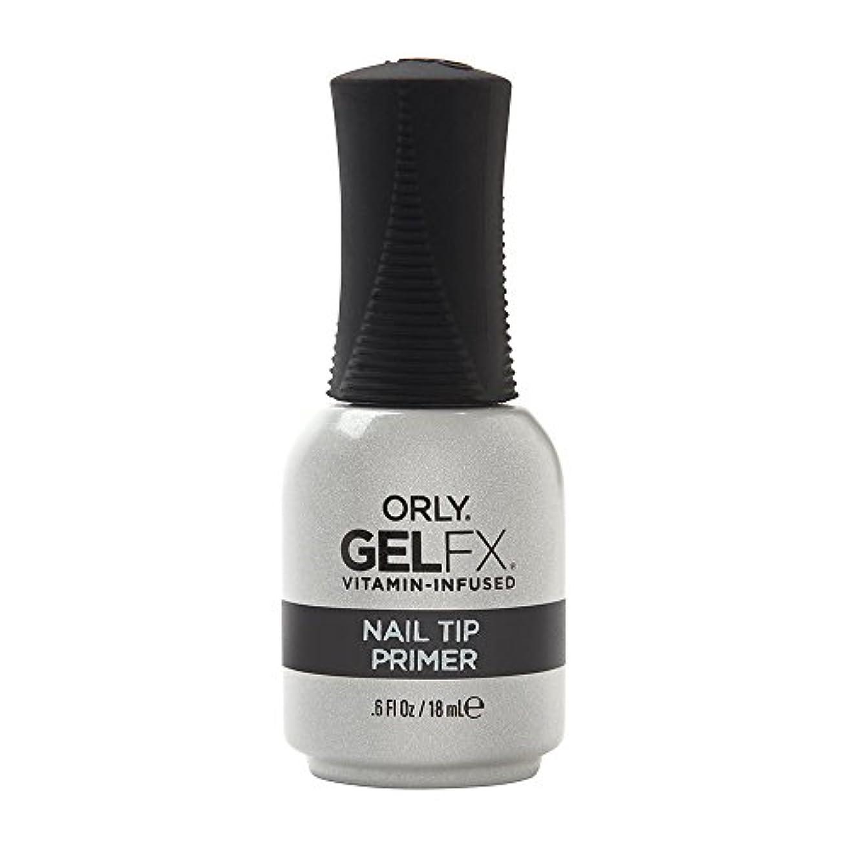 雇用者振る舞うキャンセルOrly Gel FX - Nail Tip Primer - 0.6 oz / 18 mL