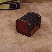House-by 懐旧アクセサリー収納ボックス キャンディー箱 小物収納箱 模様付き収納ボックス