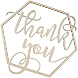 Fenteer 木製のサイン 木製看板 写真ブース 「 Thank You 」 ありがとう
