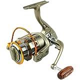 釣り用リール スピニングフィッシングリール12 + 1ベアリング左右交換可能なハンドル用塩水淡水釣り用ダブルドラッグブレーキスピニングリール (サイズ : 5000)